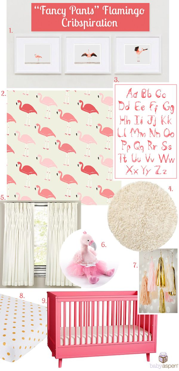Flamingo Nursery Ideas Inspiration For Baby Pink Aspen Blog Babyaspen