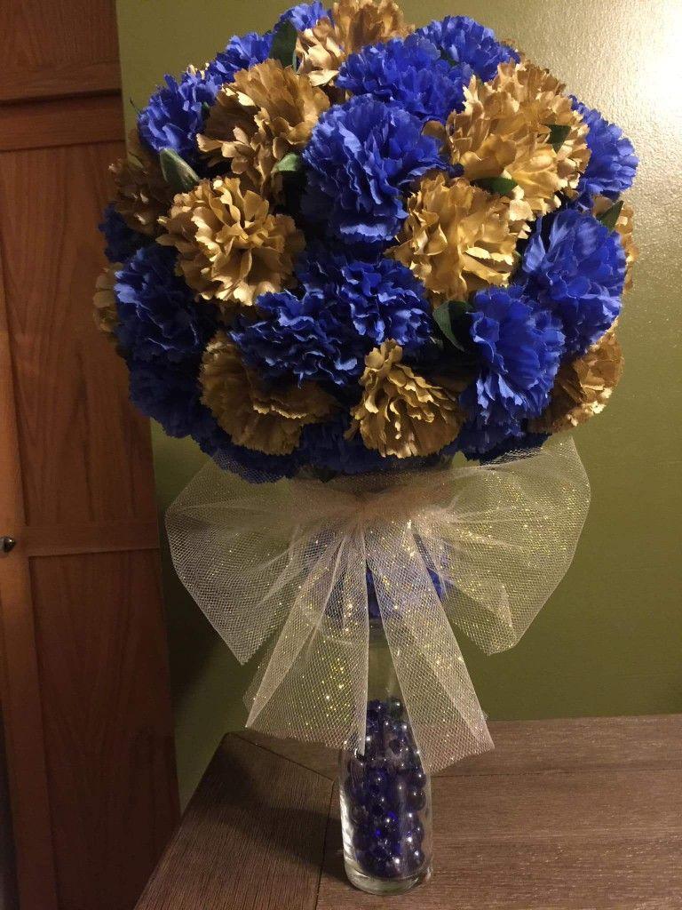 Pin by LaTonya Melton on Royal Blue and Gold Wedding Diy