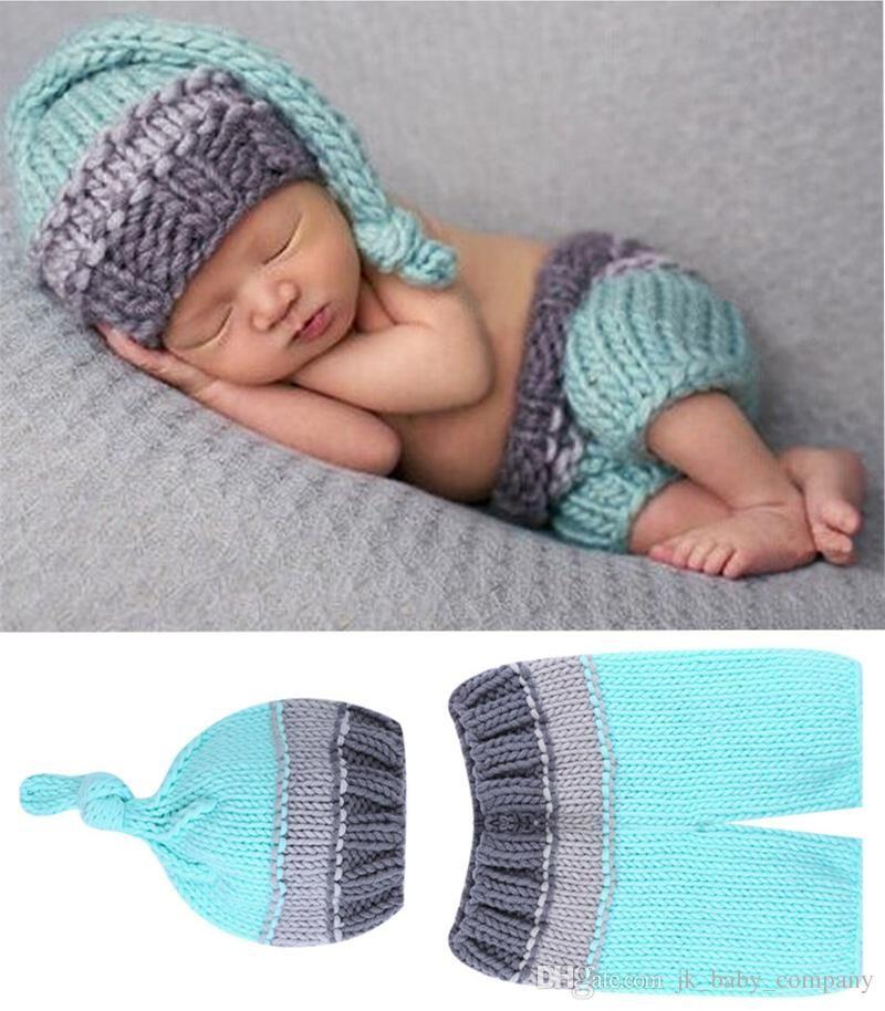 Baby Strickmütze Neugeborenen Fotoshooting Newborn Kinderfoto Mütze