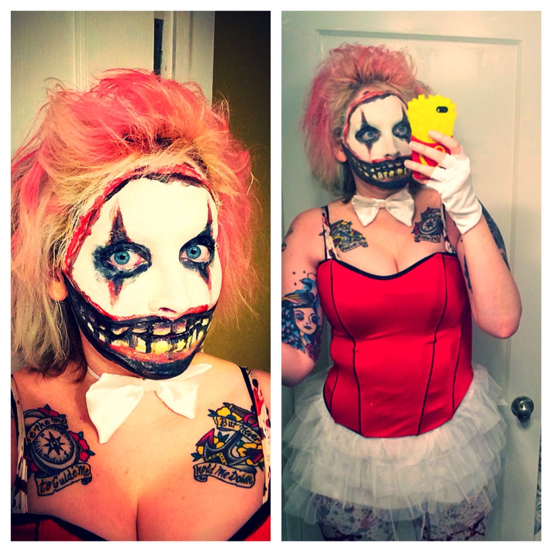 American Horror Story Twisty The Clown Halloween Costume