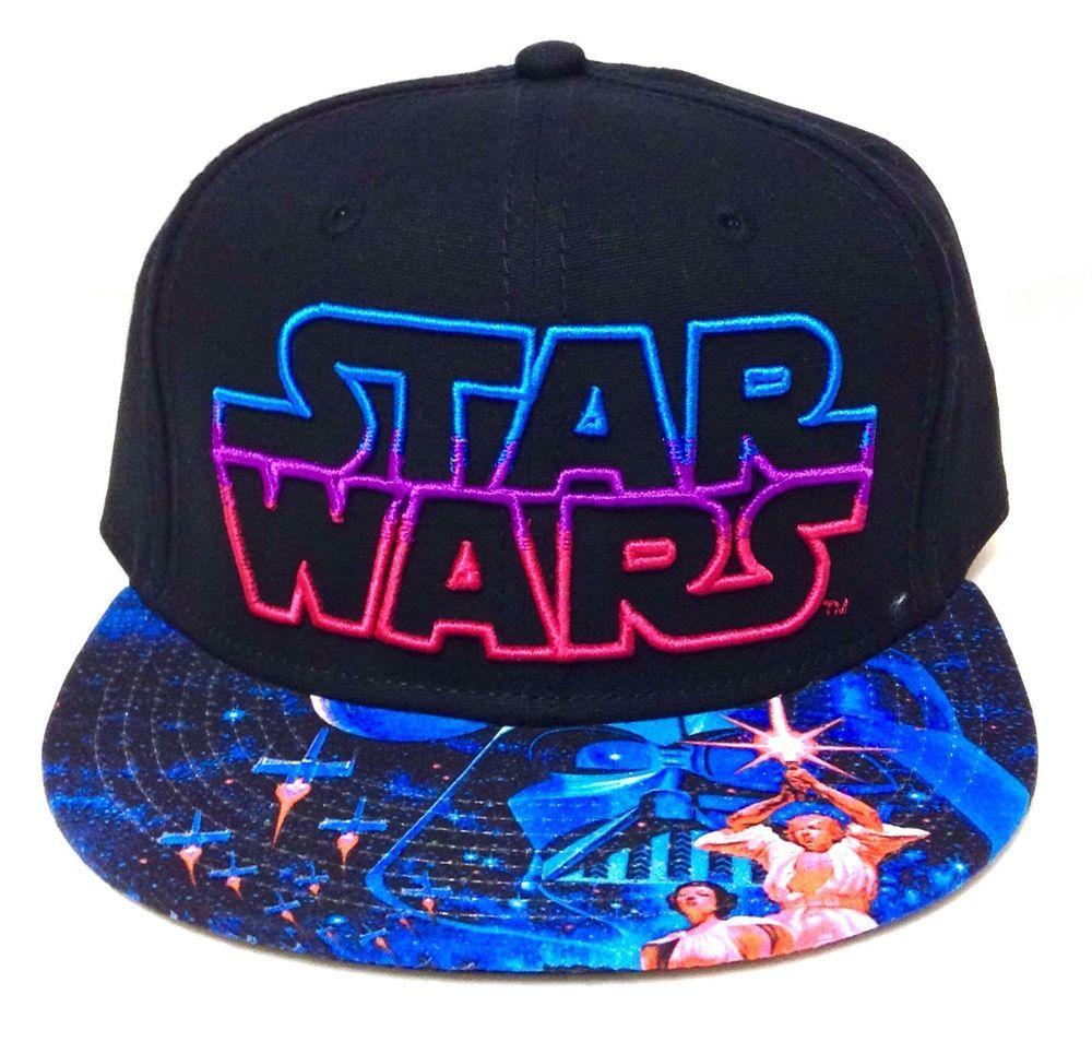 new product 09803 6725a new STAR WARS SNAPBACK HAT Black Blue Pink Men Women Teen Luke Skywalker  Vader  StarWars  BaseballCap