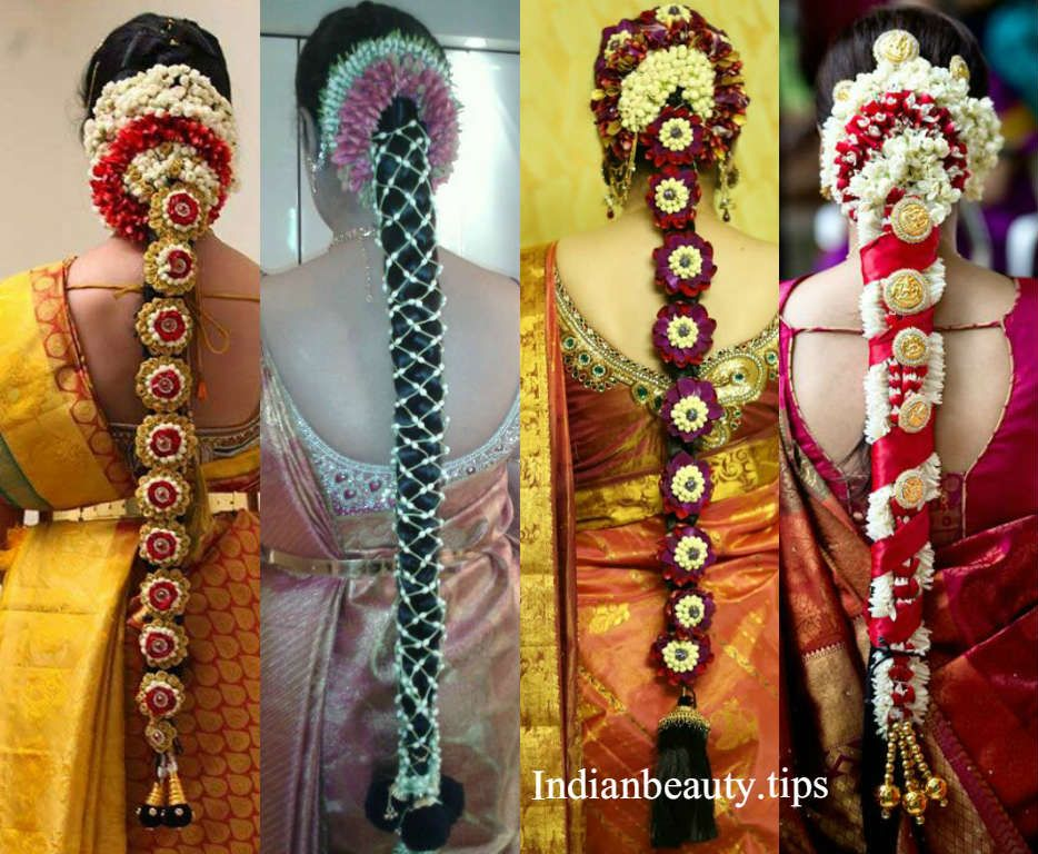 20 Gorgeous South Indian Wedding Hairstyles Beauty Tips