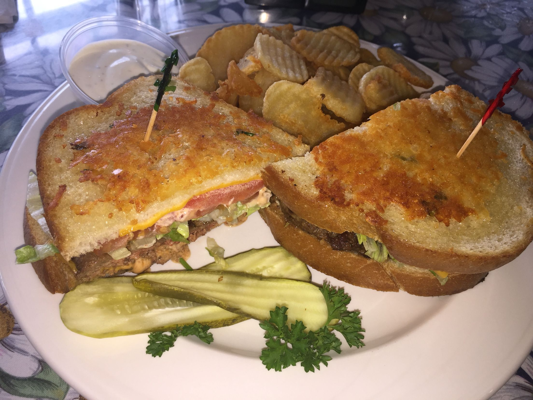 Wilmau0027s Patio, Balboa Island, Newport Beach, C/ Sourdough Burger