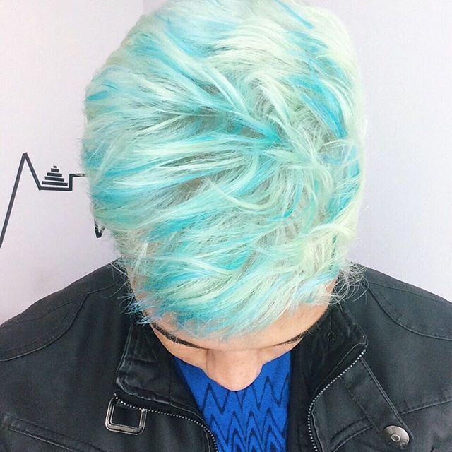 blue cabeleleiro