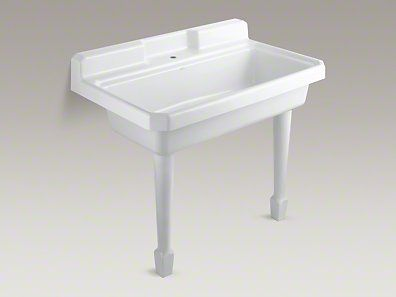 Harborview Top Mount Or Wall Mount Utility Sink With Single