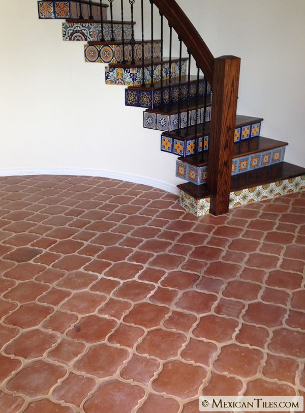 Mexican Tile Spanish Mission Red Terracotta Floor Tile Arabesque