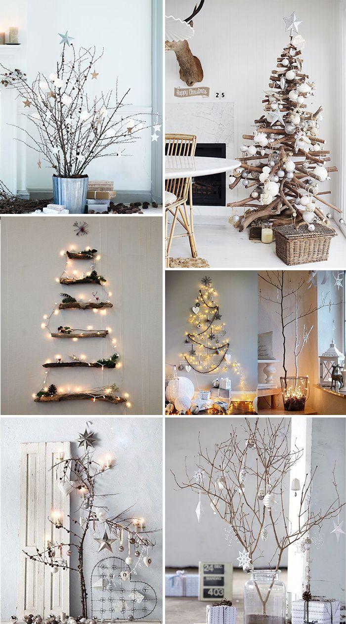 kerst interieur ideeen alternatieve kerstboom christmas interior kerstinterieur kerstinspiratie kerstboom