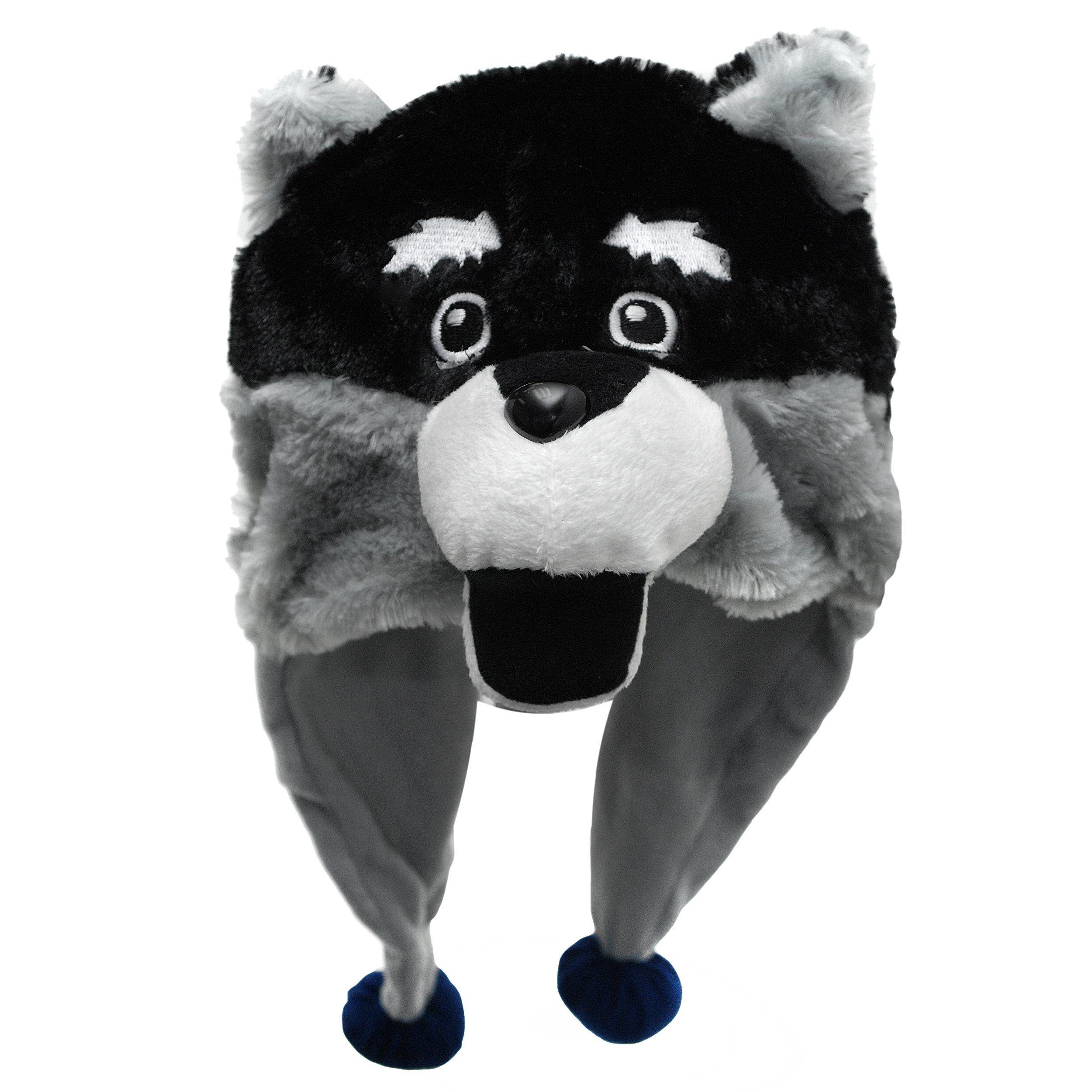 Ncaa washington huskies thematic mascot dangle hat hats