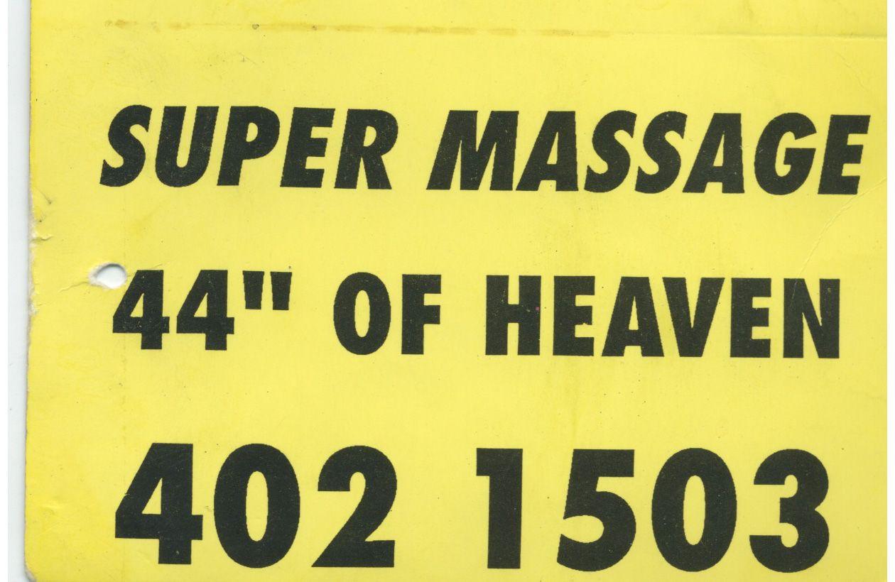 """44"""" Inches of Heaven circa 1990"""