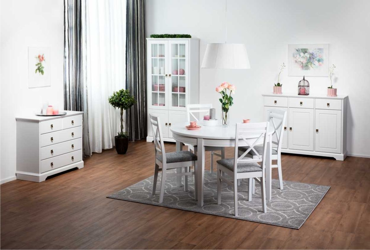 Laulumaa Huonekalut - Laulumaa Greta® - Ruokailuhuone / keittiö - valkoinen
