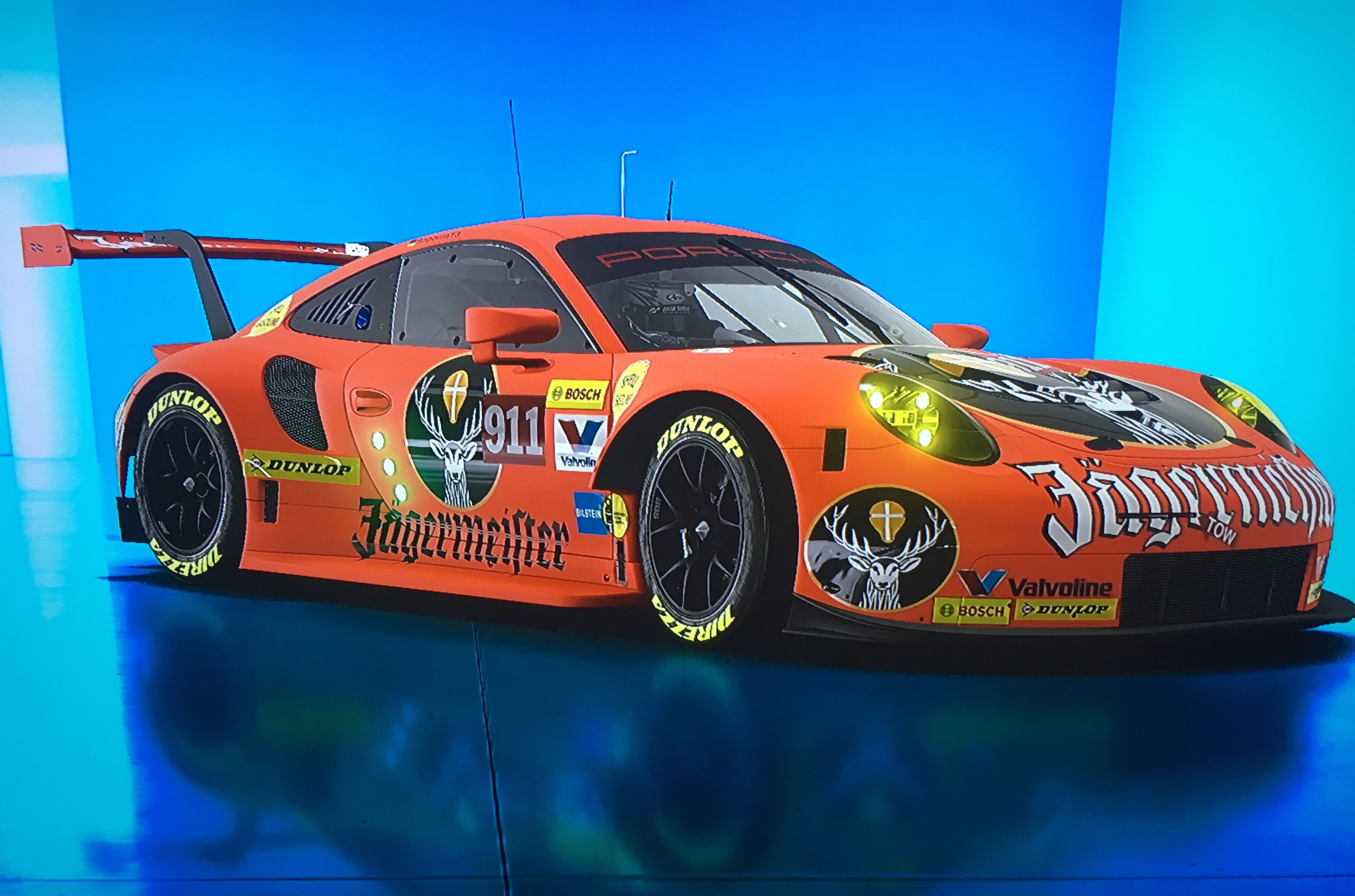 Pin By David Vickers On Jagermeister Porsche 911 Gt3 Car Model Porsche