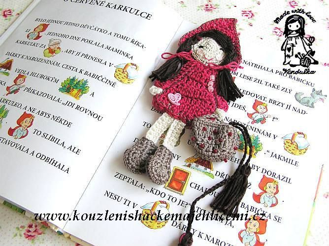 Little Red Riding Hood Bookmark pattern by Vendula Maderska ...