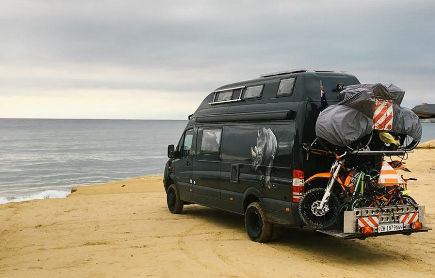 Rhino Camper - a Sprinter on an animal protection mission