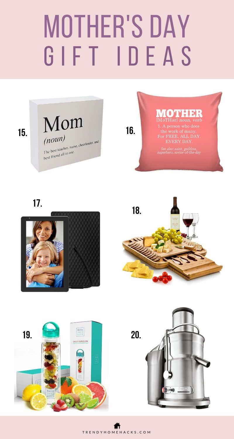 Mother's Day Unique and Practical Gift Ideas 2019 (With