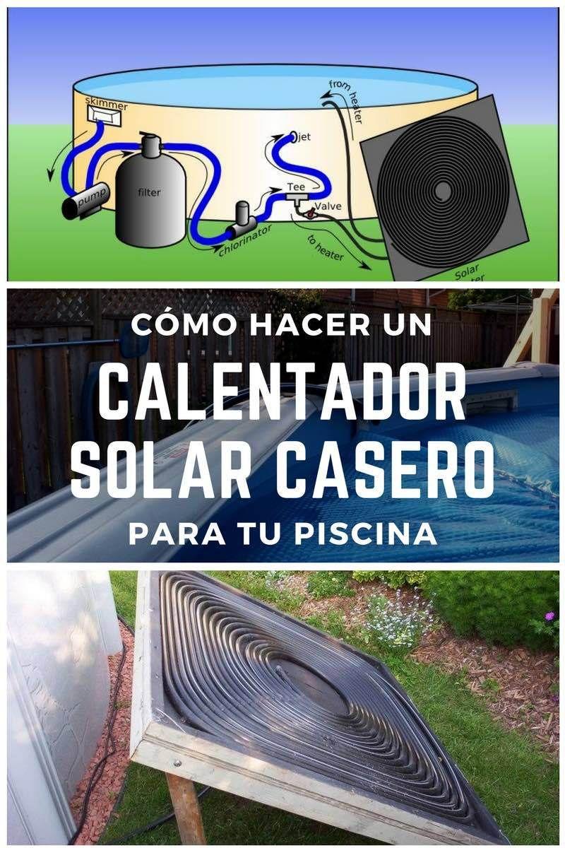 C mo hacer un calentador solar casero para tu piscina for Piscinas pequenas portatiles