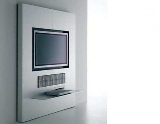 modern wall units design for plasma tv and lcd tv stand by mdf italia - Wall Modern Design