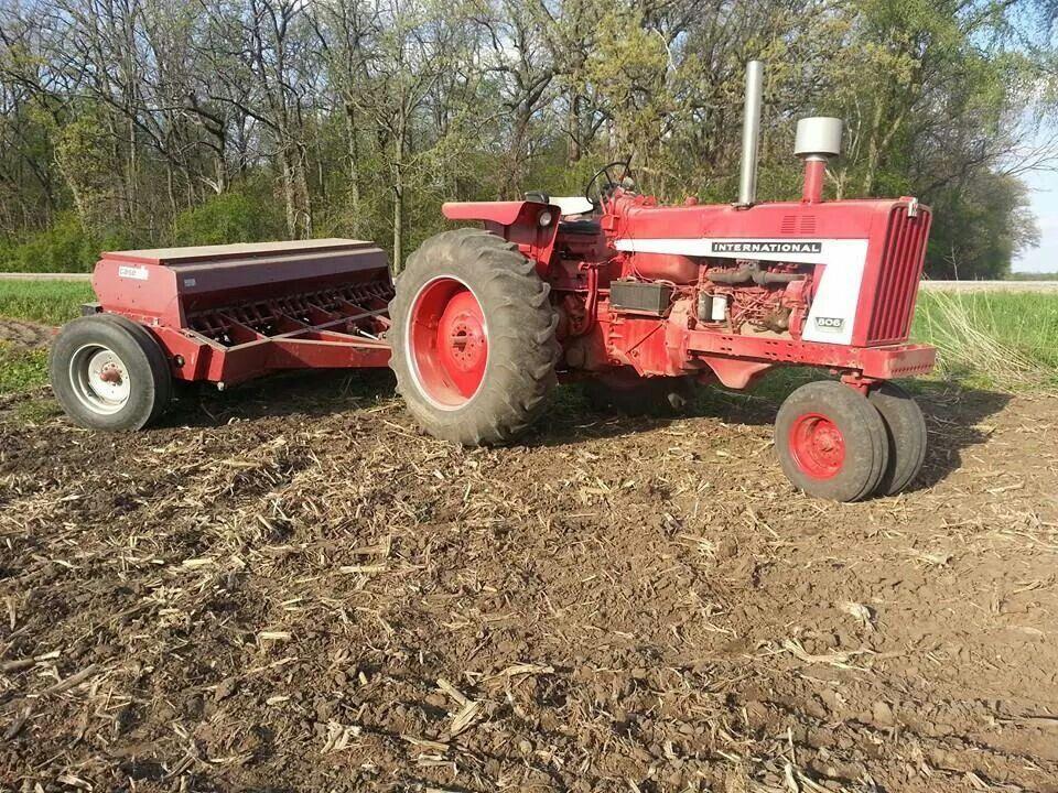806 W Case Ih Grain Drill International Harvester Tractors