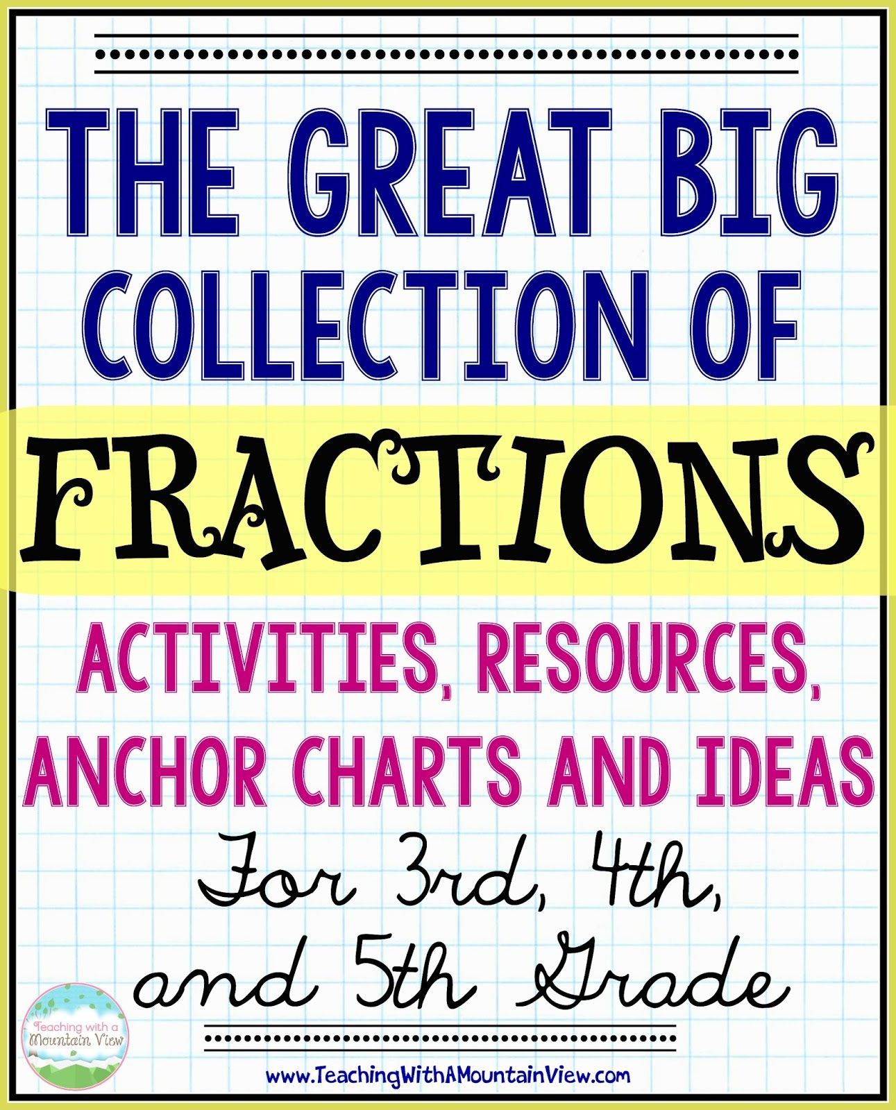 The Ultimate List Of Fraction Activities Math