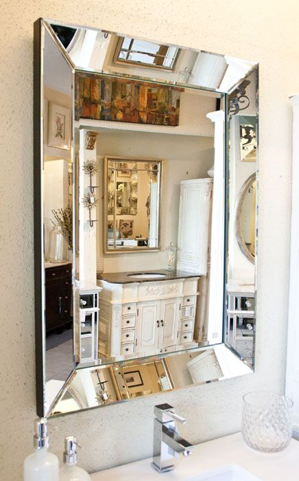 mirror with mirrored frame tra513766