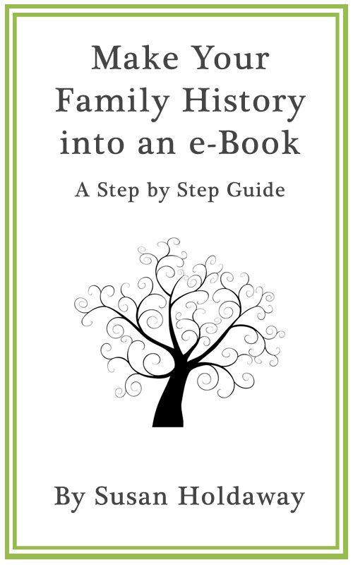 Make Your Family History into an eBook A Step by Step Guide - how to make a family tree book