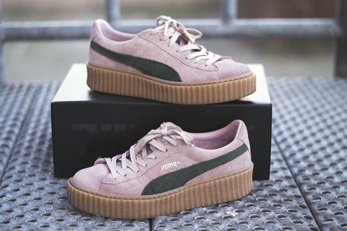puma fenty creepers pink