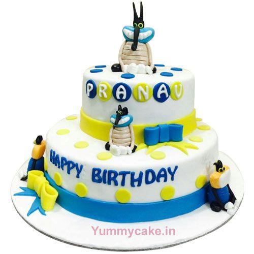 Order #OggyCake from #Faridabadcake at best price call 9718108300 & book #Cakeforkids now #Oggybirthdaycake