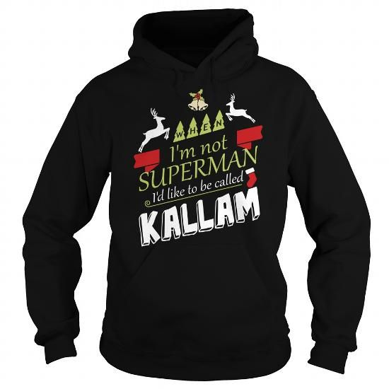 I Love KALLAM-the-awesome T shirts