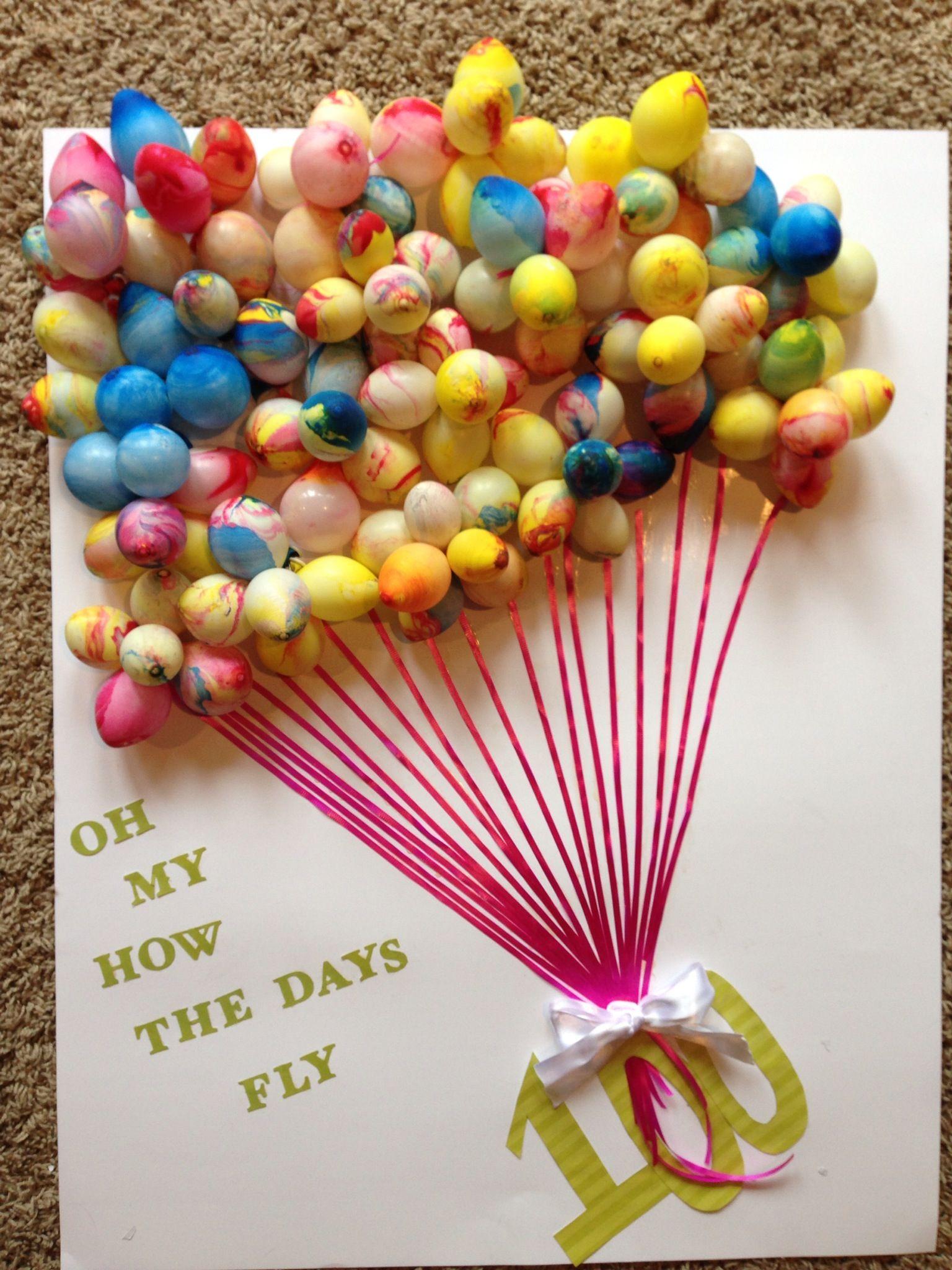 Scrapbook ideas school - Kennedy S 100 Day Of School Poster
