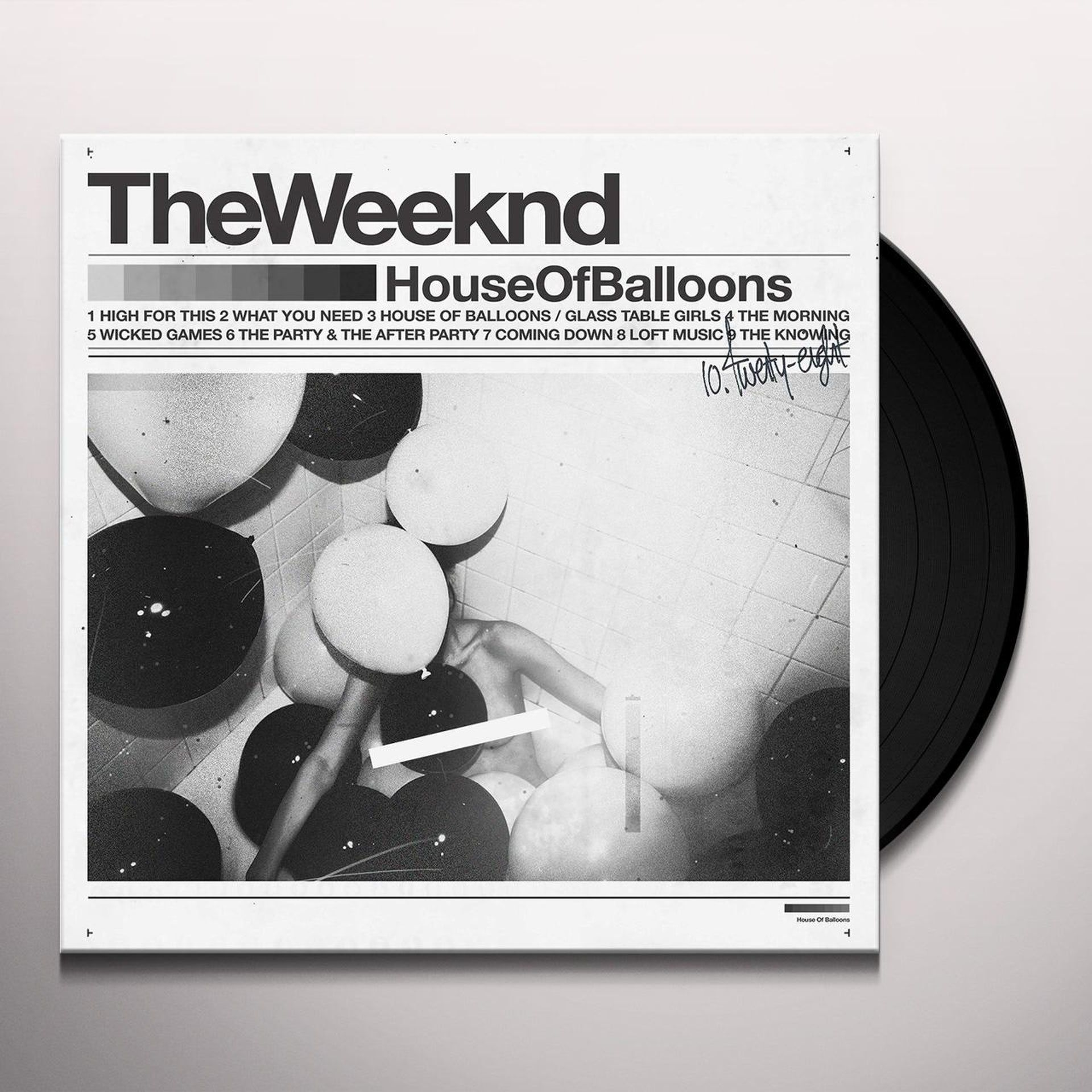 The Weeknd House Of Balloons Vinyl Record House Of Balloons Vinyl Records The Weeknd Poster