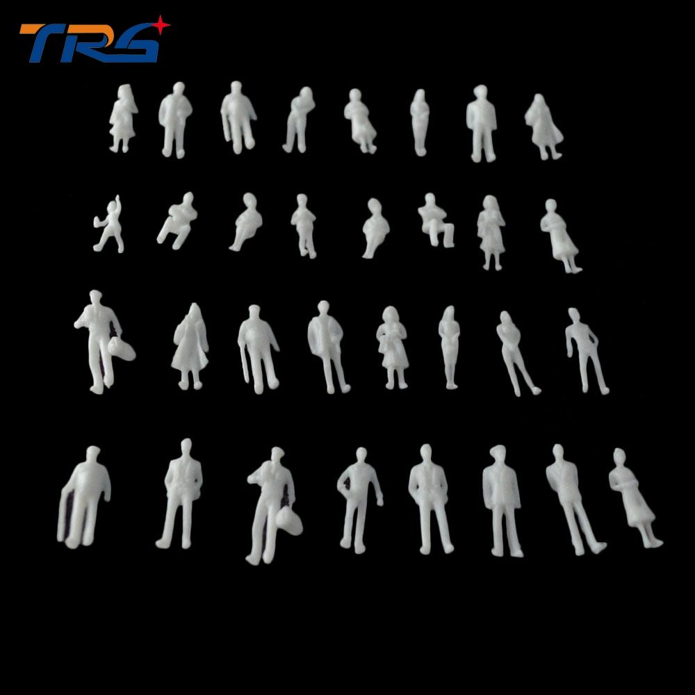 1 100 Scale Model Miniature White Figures Architectural Model Human Scale Ho Model Abs Plastic Peoples Affiliate Architecture Model White Figures Human Abs