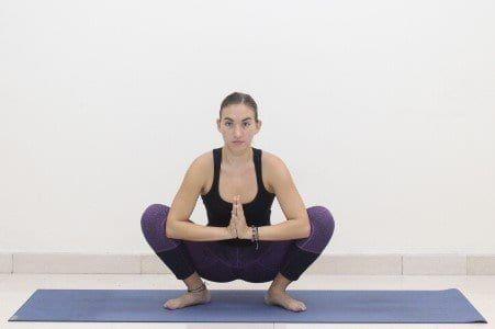 standing only yoga flow  free printable pdf  easy yoga