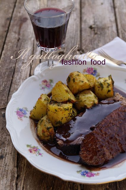 Photo of Beef stew with Barbera with parsley potatoes – Il …