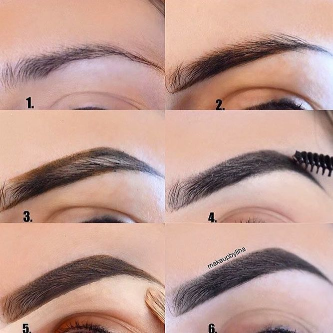 High And Soft Arched Eyebrows Shapes For Round Face Picture 2 Best