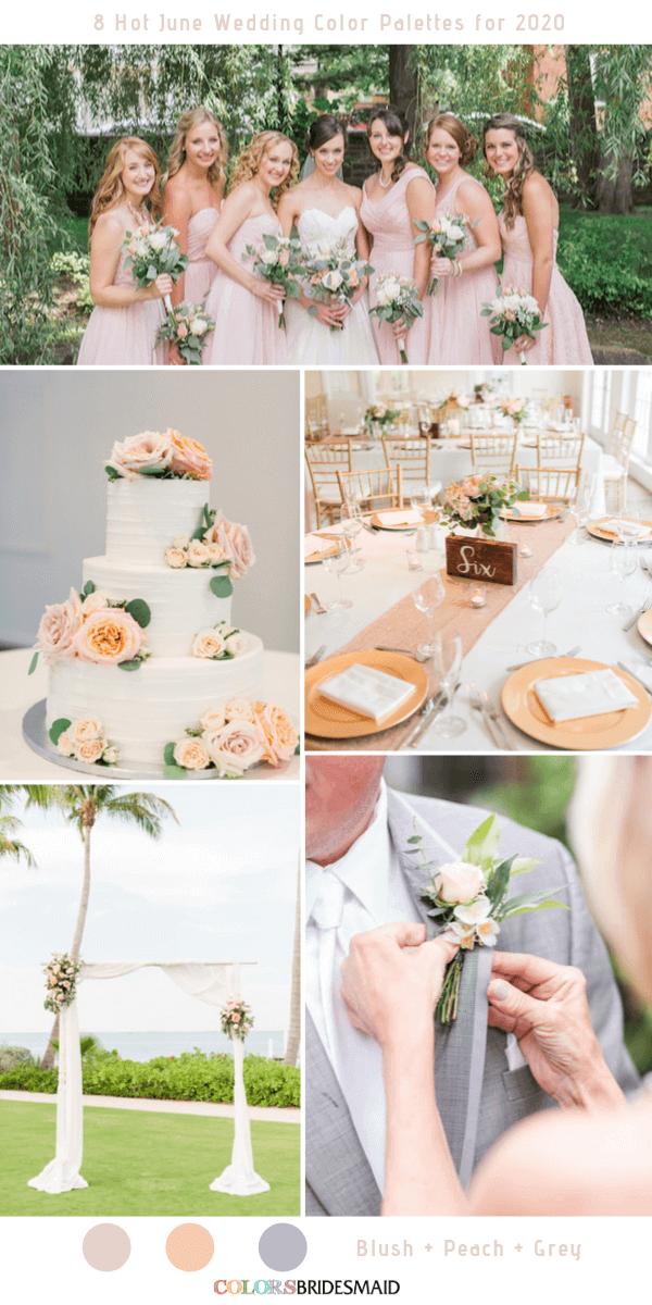 8 Hot June Wedding Color Palettes For 2020 June Wedding Colors Wedding Color Palette Summer Wedding Colors