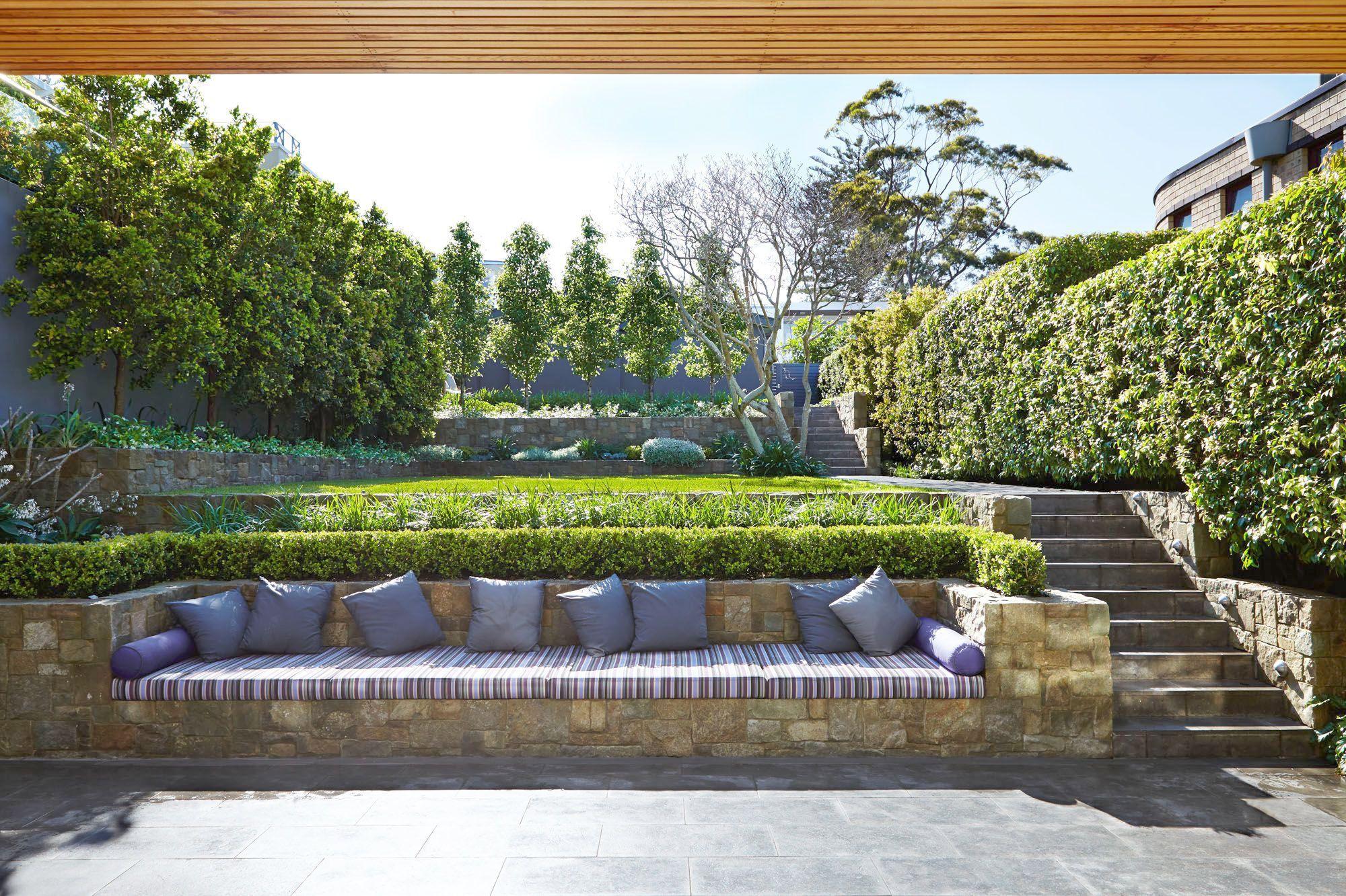 Landscape Design For Backyard Privacy, Landscape Gardening ...