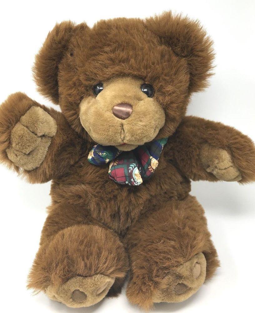 Ideal vintage cuddle toy teddy bear very