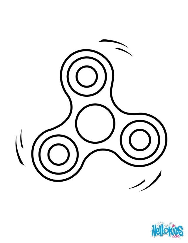Marvelous Picture Of Fidget Spinner Coloring Page Coloring Pages