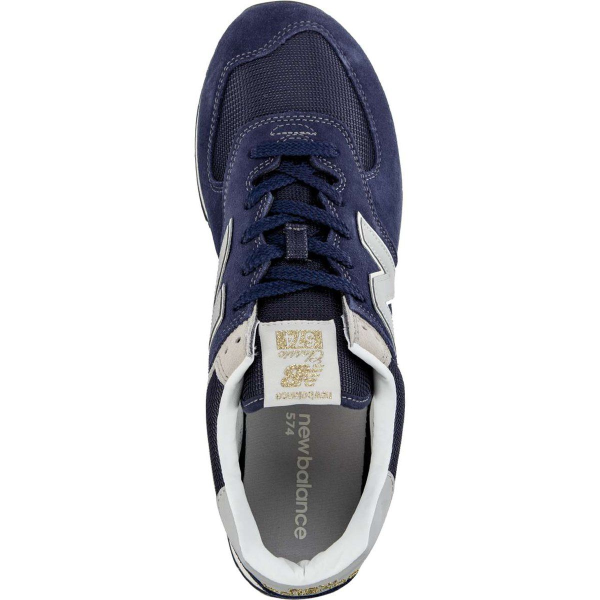 Sportowe Meskie Newbalance New Balance Niebieskie Ml574vla Navy Vans Sneaker Vans Authentic Sneaker New Balance