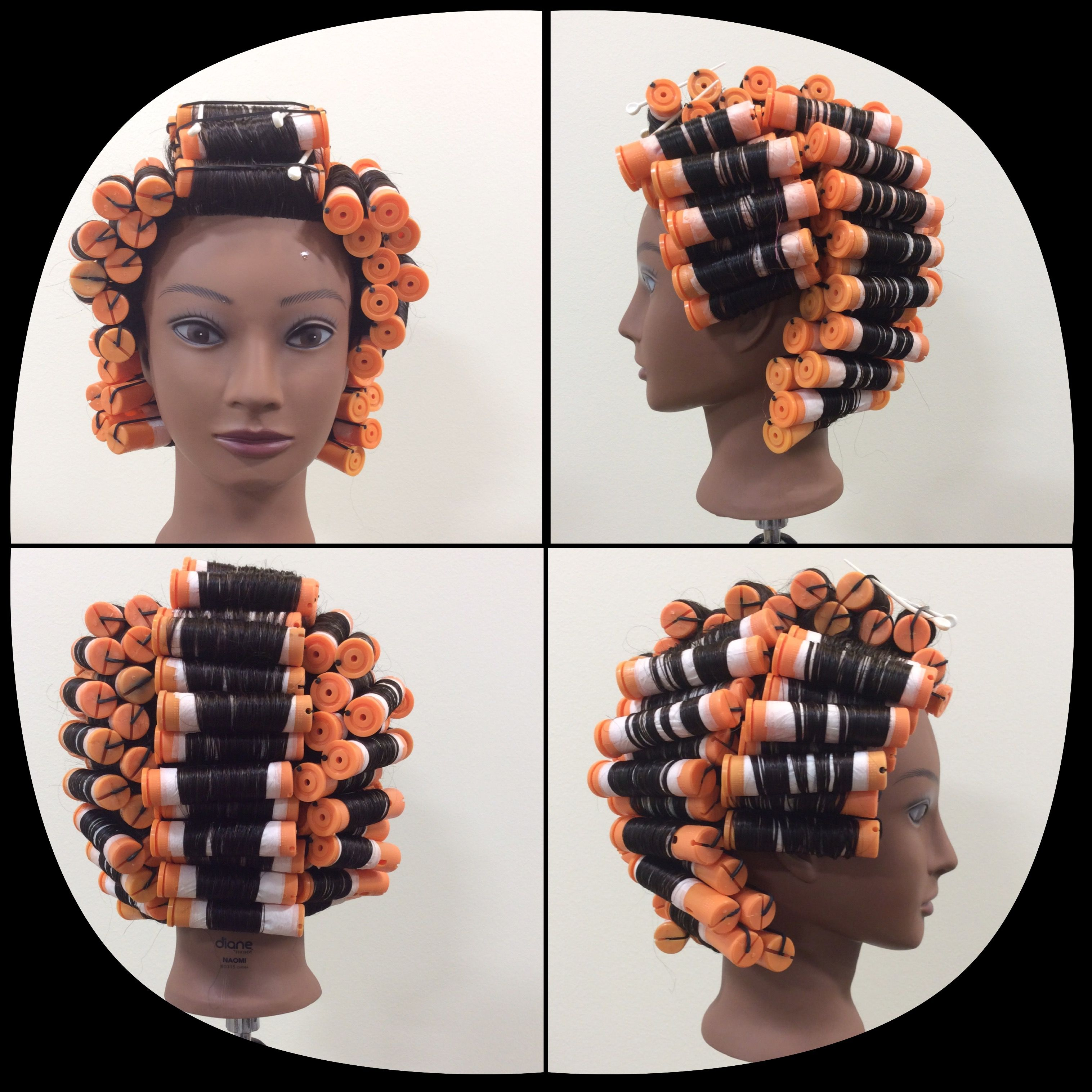 Insertion Perm Wrap Perm Hair Rollers Diy Hairstyles