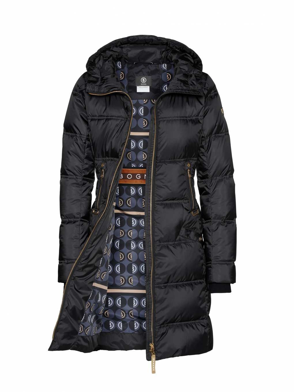 Geographical Norway Damen Steppjacke Winterparka Abby Kapuze