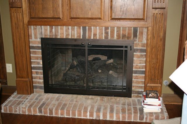 How To Select Fireplace Glass Doors Charming Decoration Inspiring