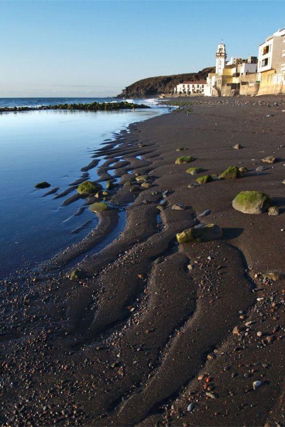 Tenerife, Candelaria beach... Canary island, Spain.