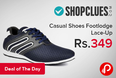 Casual Shoes Footlodge Lace-Up just at