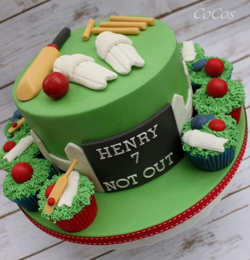 Cricket Lover Cricket Birthday Cake