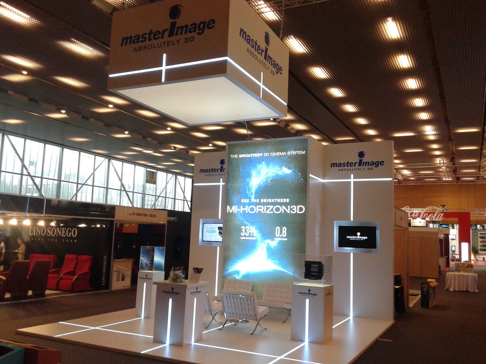 Exhibition Stand Technology : Stands by servis cine europe stand builder