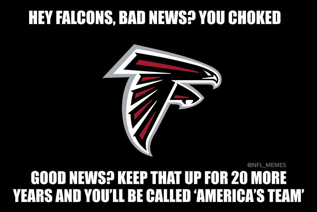 Look On The Bright Side Falcons Atlantafalcons Atlfalcons Nflmemes Lol Sportshumor Funny Hilarious Dallascowboys Atlanta Falcons Falcons Nfl Memes