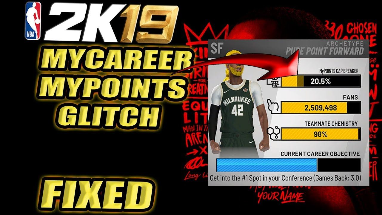 MYCAREER MYPOINTS GLITCH IS FIXED | BACK TO THE GRIND - NBA 2K19