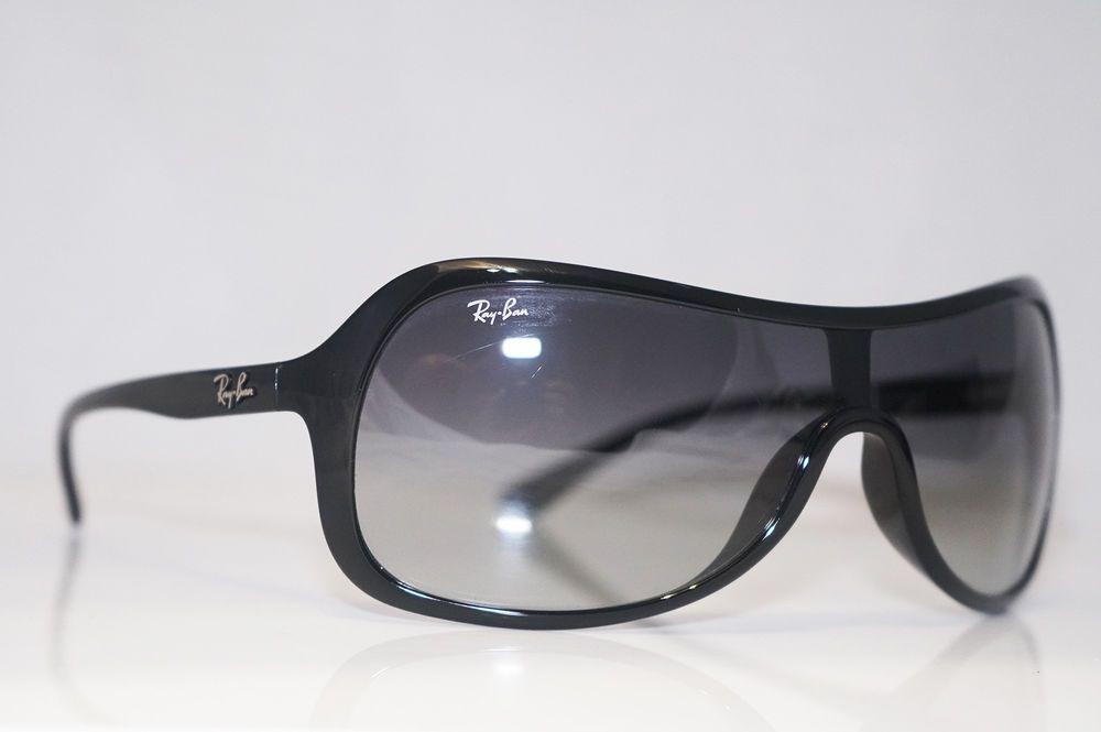 Designer 6018g Unisex Mens Black Shield Sunglasses Rb Ban Ray 4086 QxsBrCthdo