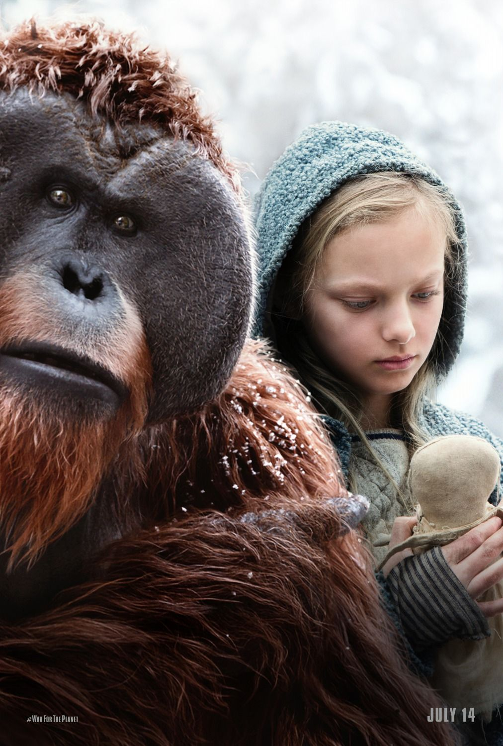 War For The Planet Of The Apes New Posters Https Teaser Trailer Com Movie War For The Planet Of Planet Of The Apes Planet Of Apes The Planet Of The Apes