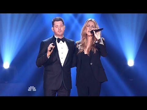 Michael Buble Celine Dion Happy Christmas Christmas In Hollywood Celine Dion Michael Buble Happy Xmas